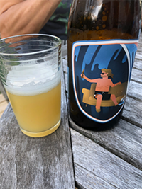 Couchsurfer IPA from Indie Ale House Brewing Company: Tastes of grapefruit and a hint of funk.