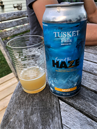 Beyond the Haze from Tusket Falls Brewing Company: A likable New England-style IPA.