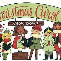 Christmas carol showdown