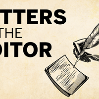 Letters to the editor, May 23, 2019