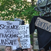 Fracked gas heats the planet, but supporters say it's a solution