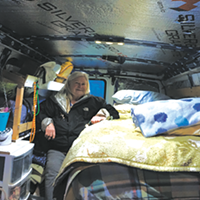 This 71-year-old is living and travelling around Nova Scotia in her van