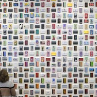 Paintings, by the numbers: An exploration of Cliff Eyland's <i>Library Cards</i>