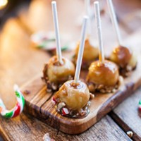 Mini Caramel  Apple Drumsticks