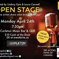 The Open Stage Series, <i>Once</i> Edition