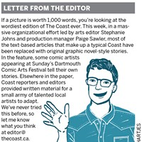 Welcome to the first ever Coast comics issue