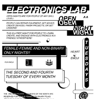 Electronic Labs Open Night