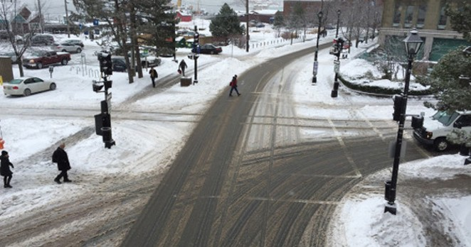 Sneckdowns in Halifax