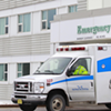 """""""Do not struggle at home because you're worried about the [ambulance] cost."""" COMMUNICATIONS NOVA SCOTIA"""
