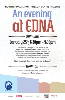 An evening at EDNA