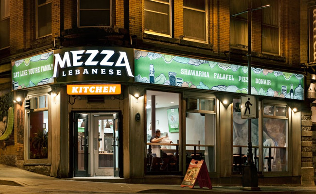 Mezza Lebanese Kitchen, Barrington Street