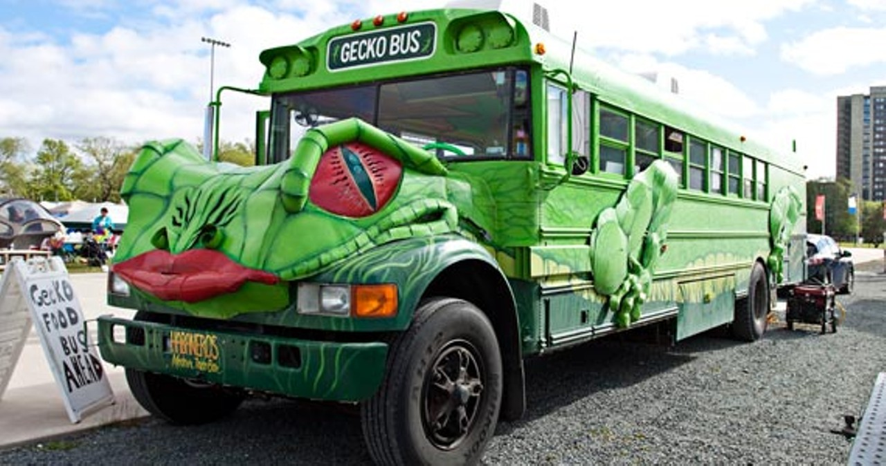 Gecko Food Truck