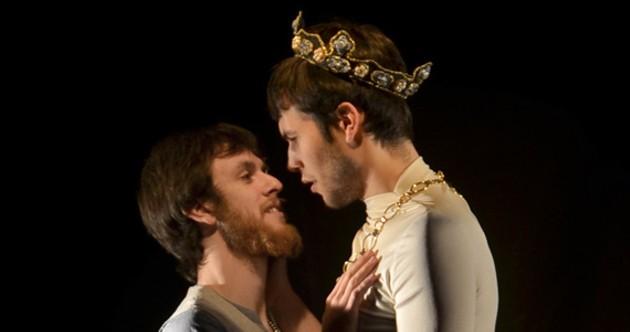 Vile Passeist Theatre's Ben Irvine is a king.