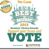 Vote now in the Best of Music readers' choice awards
