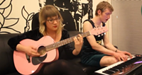 "Watch Baby Cages perform ""Arms Around Me"" live in The Coast lobby"