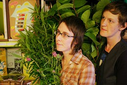 Weed Feed Their zine tells you how to eat the greens invading your yard.    photo Julé Malet-Veale