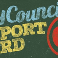 Welcome to the 2014 City Council Report Card