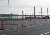 What's wrong: Point Pleasant Park parking lot fenced off.