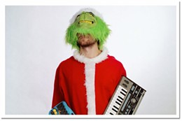 Who-ville revisited Rich Aucoin, Halifax's favourite Grinch, hits city limits again next week.