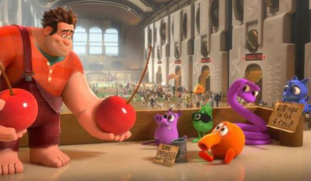 Wreck-It Ralph doles out the cherries