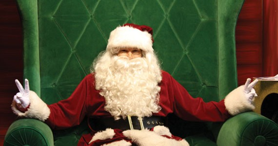 Yes, Virginia, there is a 25-year-old Jack Scrine under that Santa suit.