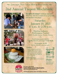 2nd Annual Tucson Mochitsuki for Japanese New Year's