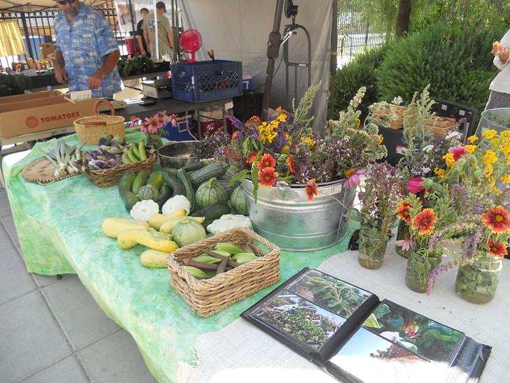A First-Timer Visits a Farmers Market