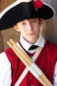 A young Presidio soldier