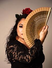 Angelina Ramirez, flamenco dancer