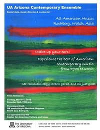 Arizona Contemporary Ensemble - Daniel Asia, conductor
