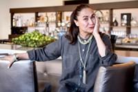 HEATHER HOCH - Chef Suzana Davila is constantly inventing at Cafe Poca Cosa.