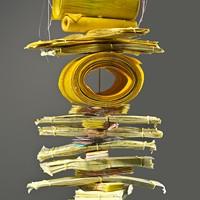 DANIELLA WOOLF - Daniella Woolf, Yellow Totem (Detail) 2015