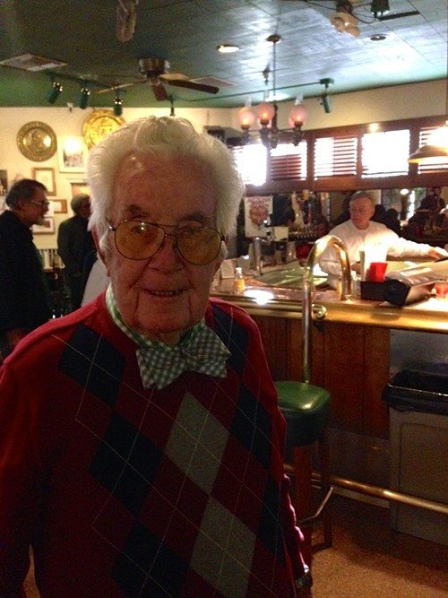 Dick Tuck celebrates his 91st birthday