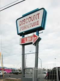 JIMMY BOEGLE - Does a little neon make this 22nd Street sign worth saving?
