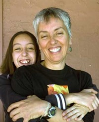 MARI HERRERAS - Eva Zorrilla Tessler, with daughter Gabriella Nugent
