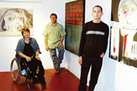 MARI HERRERAS - From left to right: Carolyn Stanley Anderson, Steven Derks and Bryan Crow of TRAC.