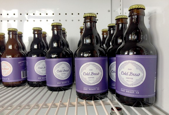 Get your cold brew in a bottle now at EXO Roast Co. - HEATHER HOCH