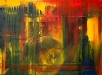 "MARI HERRERAS - ""Homage,"" oil on canvas, Greta Ward, cropped"