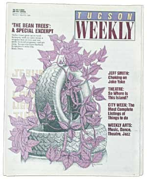 Introducing readers to a new novelist, Barbara Kingsolver, with an excerpt from The Bean Trees. -- March 2, 1988 - PAUL MIROCHA