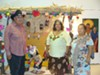 Jose Matus, Rosemary Tona-Aguirre and Josefina Cardenas at the Yoemen Tekia Cultural Center and Museum on the Pascua Yaqui Reservation.