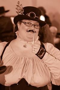 PHOTO BY EDWARD STRAMLER - Kellie Springer as Mrs. Fizziwig