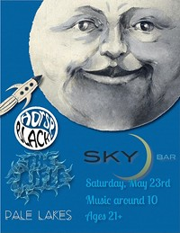 KRUG WEB DESIGN - May 23rd at Sky Bar with Pale Lakes, Horse Black and The Rifle