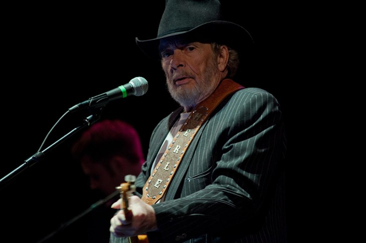 Merle Haggard at the Fox, Feb. 28, 2012