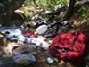 Part of the illegal dumpsite at Burro Springs in the Chiricahuas.