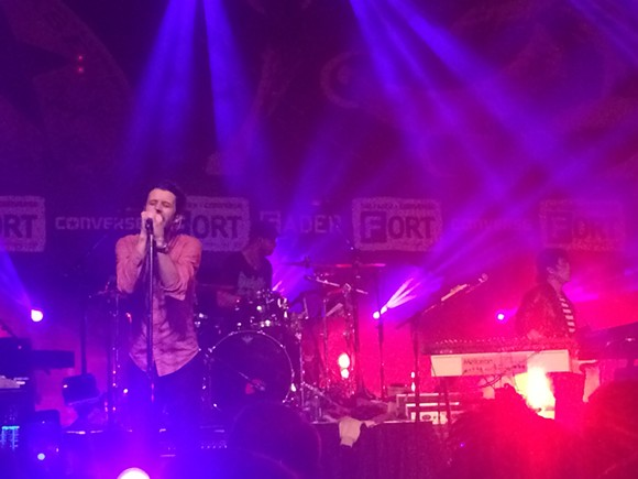Passion Pit played with energy, despite an obnoxious crowd. - HEATHER HOCH