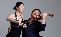 Pianist Melanie Chae and her violinist husband Edwin E. Soo Kim will perform Beethoven's Triple Concerto with cellist Zoran Stilin and the Southern Arizona Symphony Orchestra.