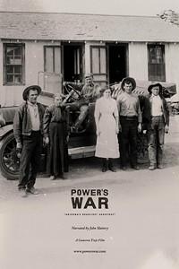 CAMERON TREJO FILMS - Power's War movie poster