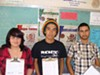 Pueblo seniors Ashley Sandoval, Enrique Garcia and Daniel Barragan want school buses back.