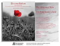 """Reconciliation"" – The Arizona Choir and UA Symphonic Choir"