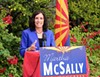 "Republican Martha McSally compared the lengthy vote count to running the Iron Man triathlon ""and coming up on the finish line, only to find out you had to run another 10K."""